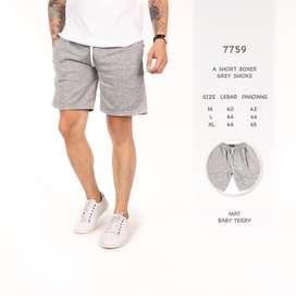 Short Boxer Dark Grey