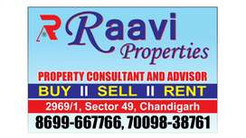 1,2,3,bhk available in49 sector