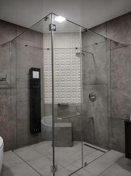 Ozone shower partition