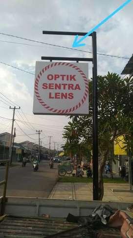 Neonbox OPTIK SENTRA LENS 120x120cm