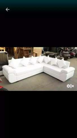 New L sofa