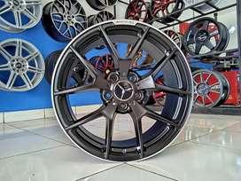Ready velg Rep AMG CLS63 ring 18x8.5 pcd 5x112 et 45 Mercy CLA SL