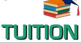 Tuitions for students from primary to 8th class.