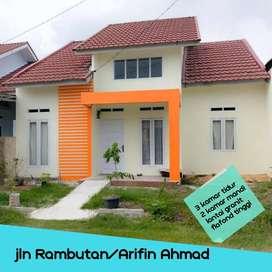 Rumah tengah kota Tipe 81/163 Jalan Rambutan dekat ke PTPN V