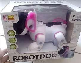 Mainan anak robot dog(baru)