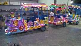 kereta motor gajah odong odong mini coaster kereta mini promo nego