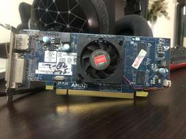AMD RADEON 6450 Hd 128 bit used just a half month