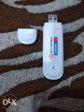 White Internet USB Dongle