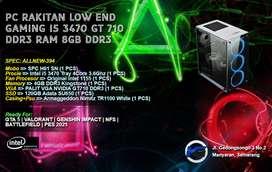 PC INTEL CORE I5 3470 GT 710 READY UNTUK OFFICE DAN GAMING LOW