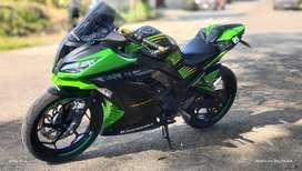 Ninja 250 hitam SE 2013