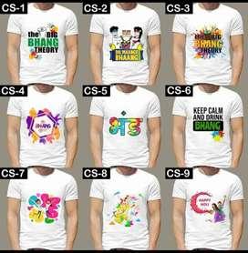 Customized t-shirts and masks