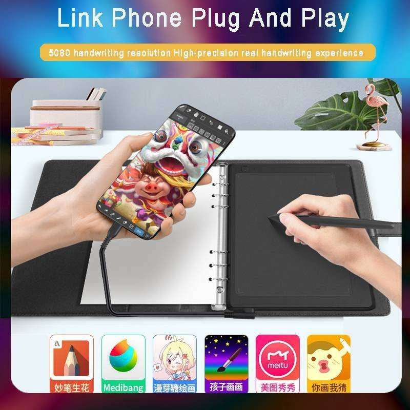 GAOMON M5 24*20.4cm 8192 Level Battery-free Pen Support Android Window 0