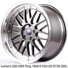 velg lemans hsr ring 18x8/9 h5x120 GML