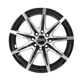 Velg mobil racing KCCX R15x65 h8x100-114,3 black polish. FREE SPOORING