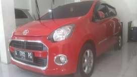 Daihatsu ayla 1000 cc merah th 2016 plat A