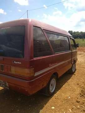 Di jual mobil carry minibus thn 96