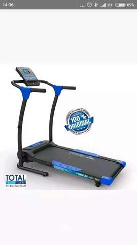 TL 111 ELektrik TOTAL Treadmill red blue