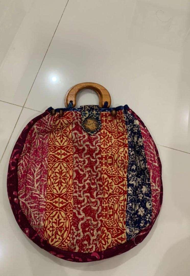 Tas wanita batik Preloved