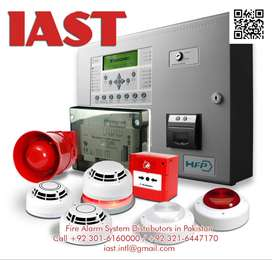 Smoke detector fire alarm system every type in Lahore Sialkot Faisalab