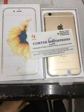 Imported iphone 6s 128gb  accessories bill box and 6 month warranty