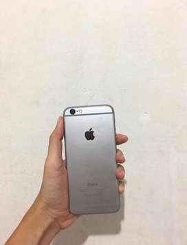 iphone 6 grey 16gb siap pakai
