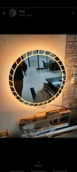 Bathroom vanity Looking mirror classic led new design  best