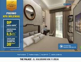 10-15 menit ke Kampus UGM dan Kampus Apartemen The Palace Jogja