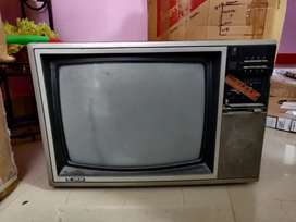 Retro styled Old Oscar colour television for sale.