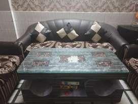 Six seater sofa set