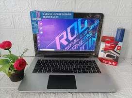 Laptop Asus X455YA AMD A8-7410 Ram 4GB 120GB SSD Spek Gaming NGEBUT