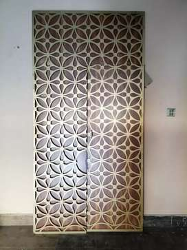 Corner try room wall and door. 19000, only for serious buyers.