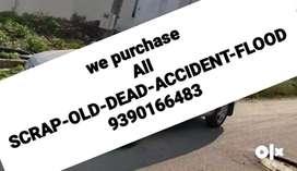 All Scrapcars/Unused/Old/Dead/flood Cars we purchase