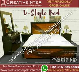 Double Bed Set elegantlook dining table sofa office chair cupboard
