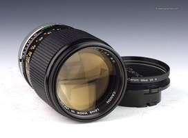 Canon FD 135mm f/2.5 Manual Lens For Micro Four thirds / Sony E Mount