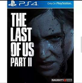 THE LAST OF US PART II 2 PS4