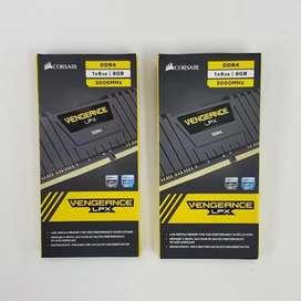 CORSAIR VENGEANCE LPX 8GB (2 x 8GB) DDR4 DESKTOP RAM 3000MHz Black