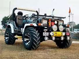 Full modified Jeep ready your booking to All