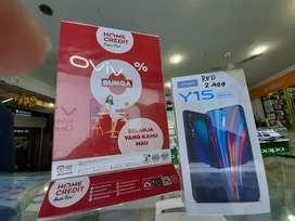 Kredit HP Vivo Y15 Gratis 1 Kali Angsuran
