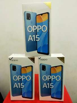 Oppo a15 new like garansi resmi