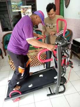 Treadmill manual 6 fungsi ( multifungsi treadmill) free ongkir