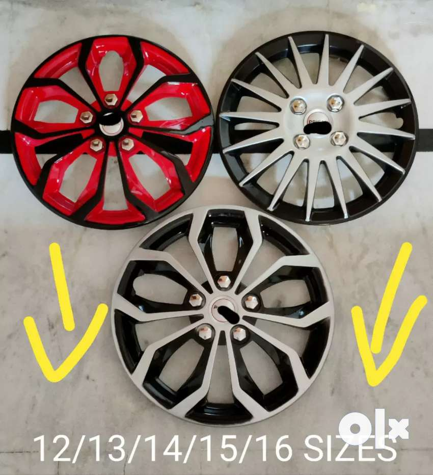 Car wheel covers sizes 12 to 16