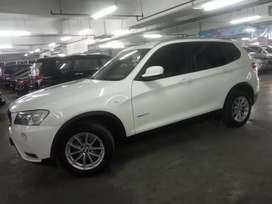 BMW X3 diesel 2013 AT...tdp 50jta