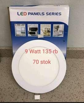 LED Panels Series 9 Watt 80% Energy Saving