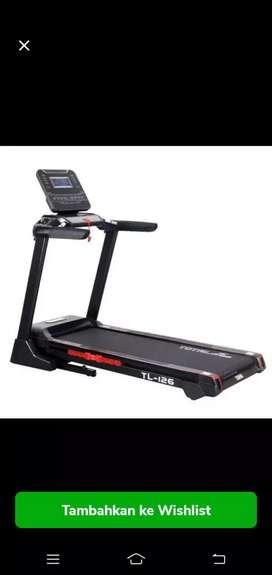 Jual Treadmill elektrik auto incline tl126 4 hp