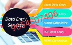 Data entry job call us for online job