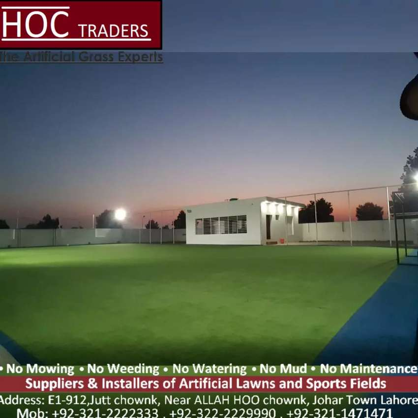 Artificial grass, astro turf HOC TRADERS best quality in Pakistan 0