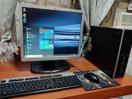 Branded Low price full set desktop HP Amd A6 2gb ram 320 gb hdd 17