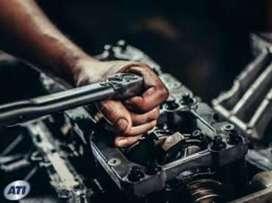 Immediately hiring two wheeler mechanics