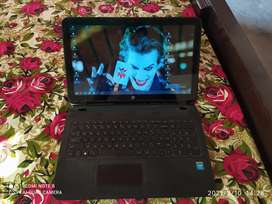 Hp laptop 8/10 condition only singal hand used 4 gbram500gb  hard disk