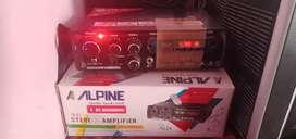 Amplifier hi fi company name Alpin